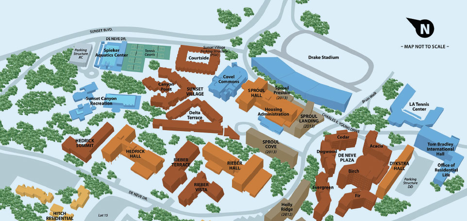 UCLA-Residential-Community-Map